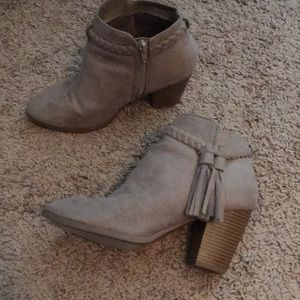 Grey western booties from Lulu's!